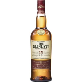 GLENLIVET SINGLE MALT 15YEARS 70CL
