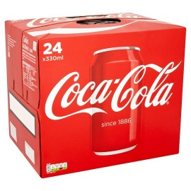 Coca Cola Regular 24 X 330Ml Soda Pack
