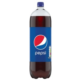 Pepsi Regular Soada 2 Litre Bottle