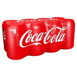 Coca Cola Regular Soda 8X330ml