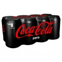 Coke Zero Soda 8X330ml