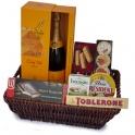 Champagne Soiree Gift Basket