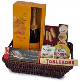 Champagne Soiree Gift Basket