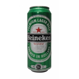 Heineken Beer Can 500ml