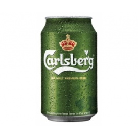 CARLSBERG BEER CAN 330ML