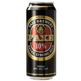 FAXE ALCOHOLIC DRINK