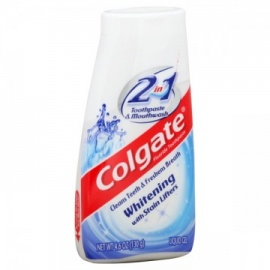 Colgate 2 In 1 Toothpaste & Mouthwash Whitening  Lifters Liquid Gel
