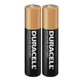 Duracell AAA 1.5V Alkaline Coppertop1 Pair