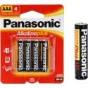 Panasonic AM-4PA/4B Alkalineplus AAA