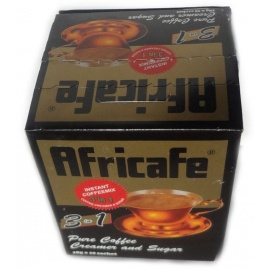 Africafe® Pure Instant Coffee 1 Cup Sachet 20 Sachets 1.6 Grams