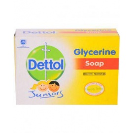 juniors set of 6 glycerine soap tablets 100g