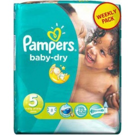 junior 8 piece diapers 11-25kg