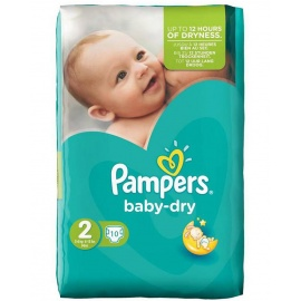 mini 10 piece diapers 3-6kg