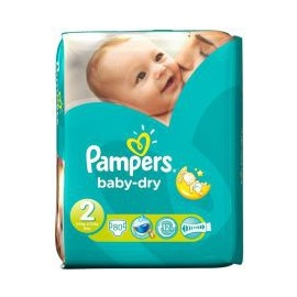 mini 80 piece diapers 3-6kg