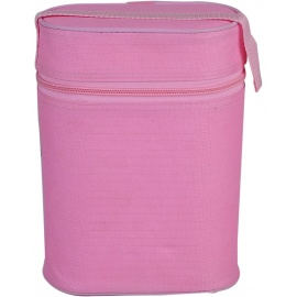 double warmer bottle pink