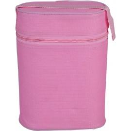 double warmer bottle pink