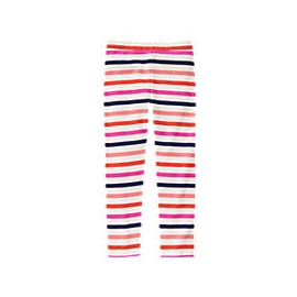 striped leggings multi coloured
