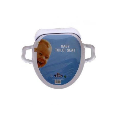 baby toilet seat white