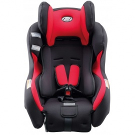 car seater for babies red and black