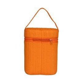 double bottle warmer orange