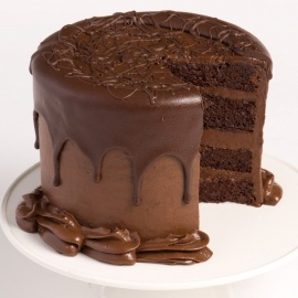 Fresh Cream Chocolate Cake