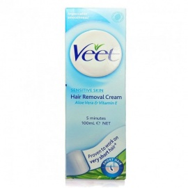 Veet Sensitive Skin Hair Removal Cream - 100g