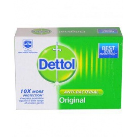 Dettol Set of 6 Original Anti-Bacterial Soap Tablets - 100g