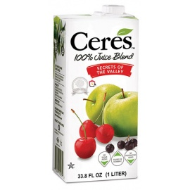 CERES APPLE 100% Pure Fruit Juice 1Ltr
