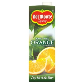 DELMONTE ORANGE 100% Pure Fruit Juice 1Ltr