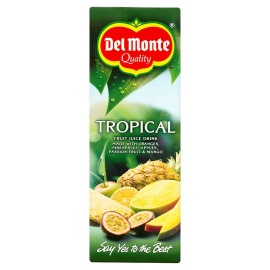 Del Monte Pure Tropical Juice Drink 1 Litre
