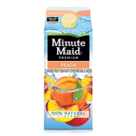 Minute MaidPEACH FLAVORED FRUIT DRINK