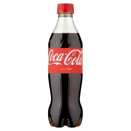 Coca Cola Regular Plastic Soda 500ml