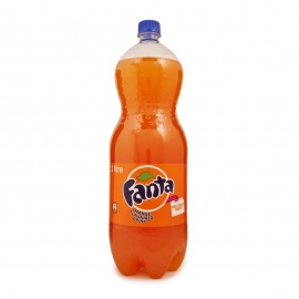 Fanta Orange Soda 2 litre