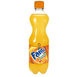 PET FANTA Orange Soada 500ML