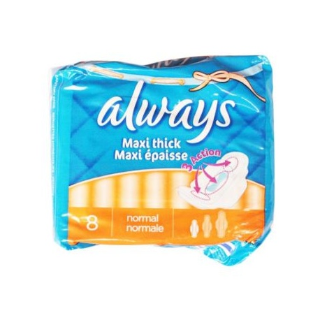 Always Maxi Thick Normal Length 8 Sanitary Pads