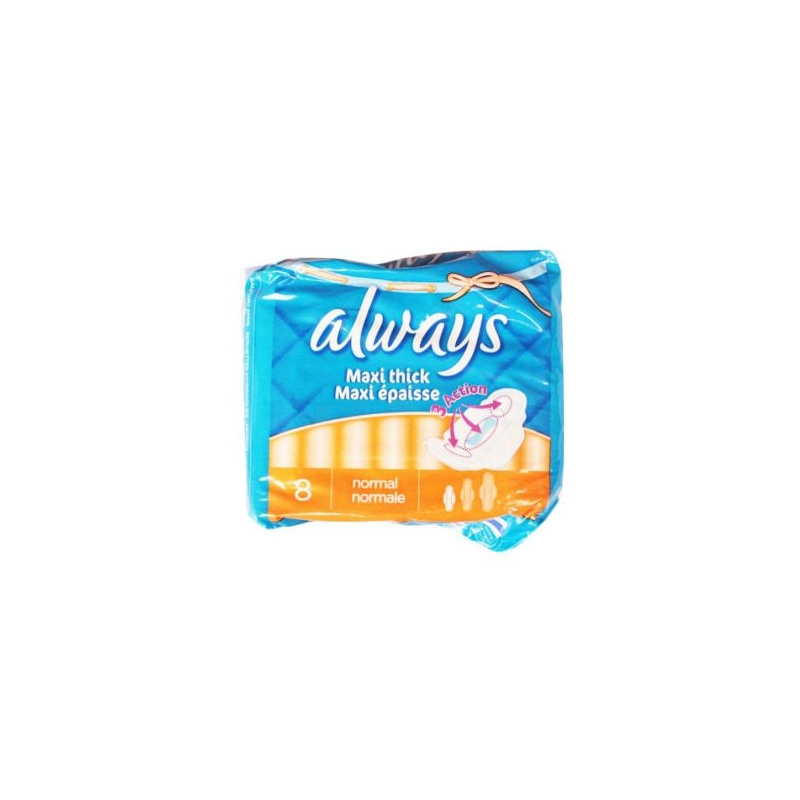 Online shopping always maxi thick normal length 8 sanitary pads
