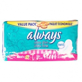 Always Ultra Thin and Fine 16 Pack Sanitary Pads