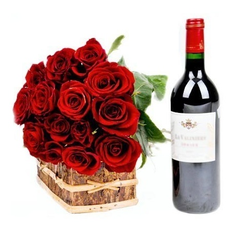 Zinga Pack of Wine Roses