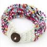 Beaded Multiple Bracelet - Multicolour