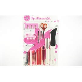 Manicure Set - 20 Piece