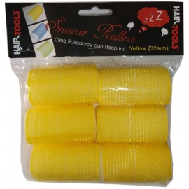 Yellow Hair Rollers