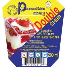 PARAMOUNT DOUBLE CREAM 200CC