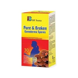 Pure & Broken Ganoderma Spores  BF Suma Health Supplement