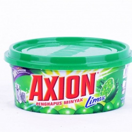 Axion dish washing paste lime