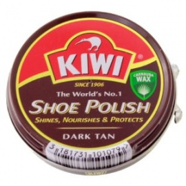 Kiwi Shoe Polish  Dark Tan 50ml