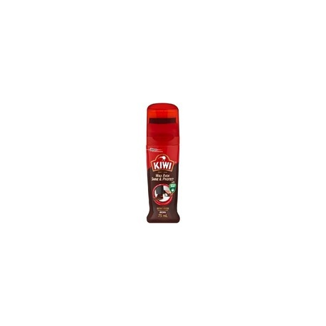 KIWI Dark Brown Instant Shoe Polish 75ml