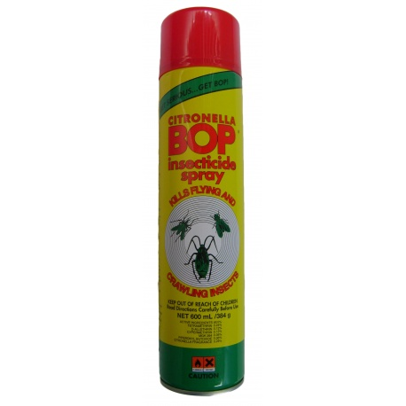 Bob Insecticide Citronella Spray 600ml