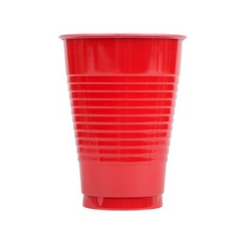 Red Disposable Cup 25pieces