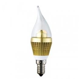 3W Clear Flame Bulb