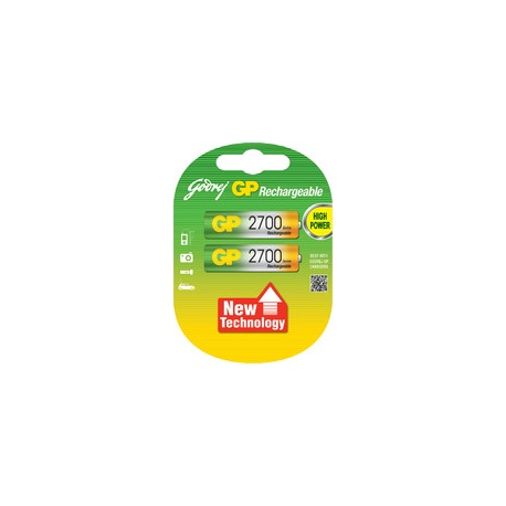 HP AA 2700mAh Rechargeable Battery